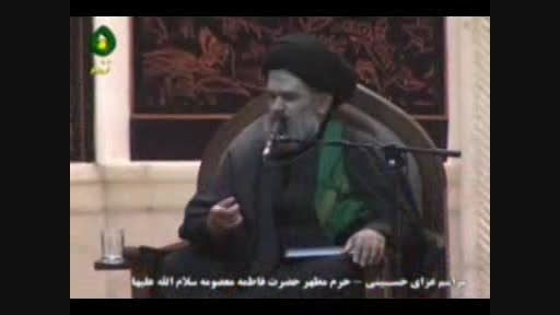 روضه حضرت امام سجاد علیه السلام - حجت الاسلام مومنی