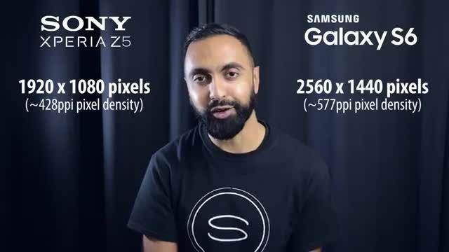 مقایسه گوشی های سامسونگ Galaxy S6 و سونی Z۵