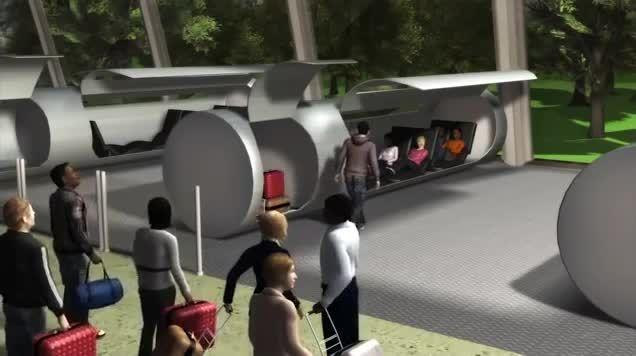 ساخت تونل آزمایشی برای هایپر لوپِ ایلان ماسک