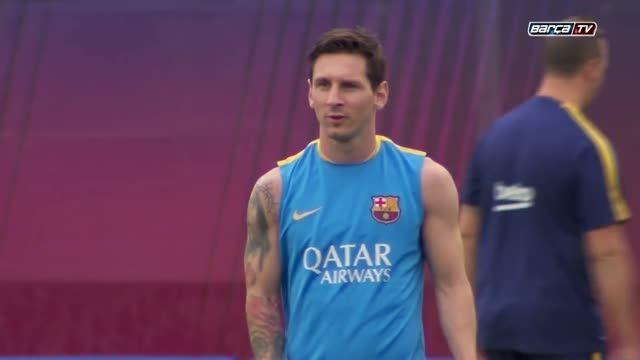تمرینات بارسلونا (31.07.2015) - تمرینات عصر