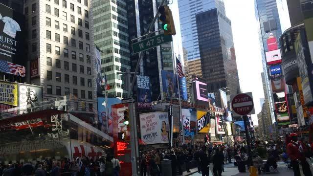 تایم اسکوور در نیویورک