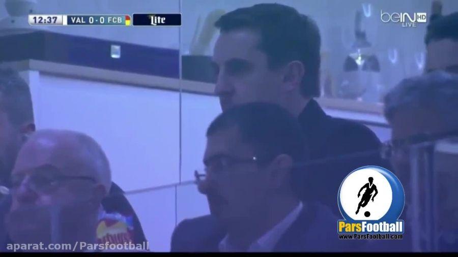والنسیا 1 - 1 بارسلونا