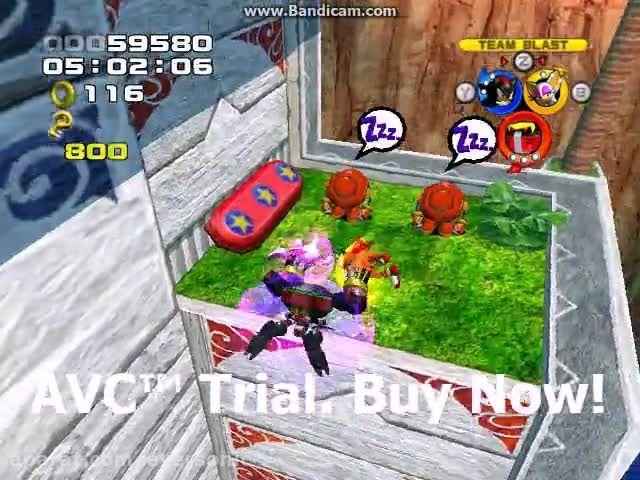 Sonic Heroes - Ocean Palace Stage 02 - Team Dark