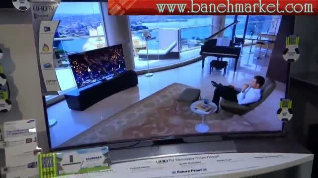 تلویزیون ال ای دی سامسونگ SAMSUNG LED TV CURVED HU9000