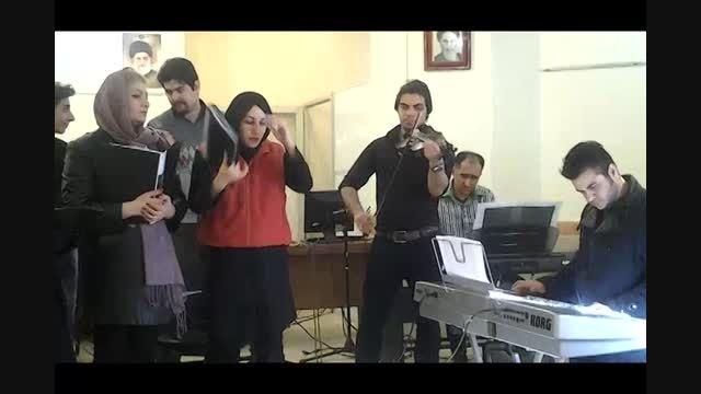تمرین ارکستر ملی همراز