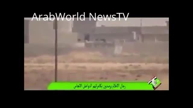 شکار تک تیرانداز داعش با شلیک راکت در عراق