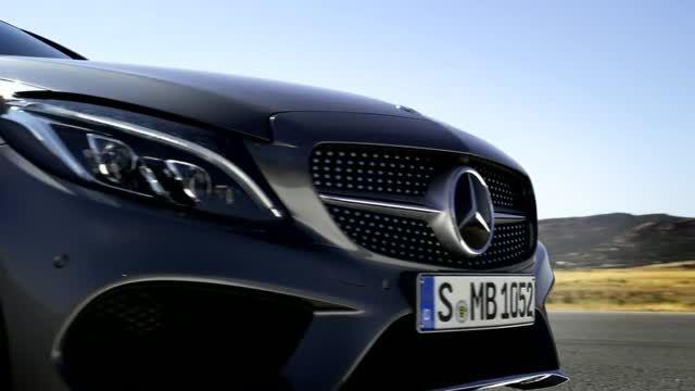 تیزر رسمی - مرسدس بنز C Class Coupe جدید