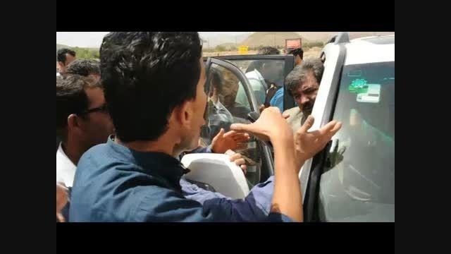 فیلم/ اعتراضات متقاضیان و ساکنان مسکن مهر به معاون وزیر