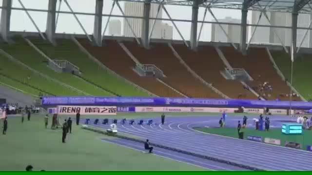 فینال 100 متر قهرمانی آسیا ووهان - چین
