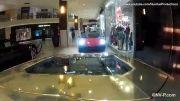 جابجایی 5 لامبورگینی در مرکز تجاری شهر میامی