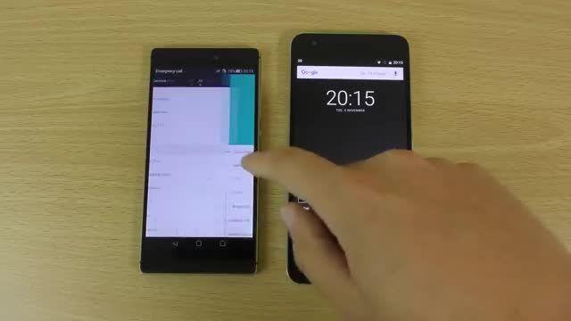 تست سرعت ؛ Nexus 6P VS Huawei P8