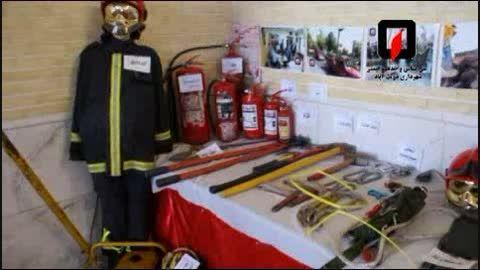 کلیپ فعالیت و ماموریت های آتش نشانی دولت آباد