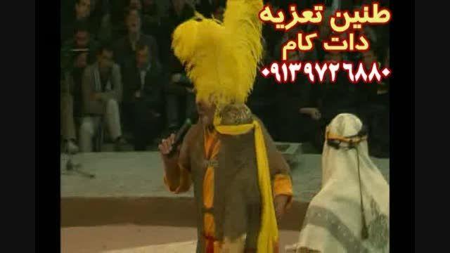 مرحوم رضا مشایخی در قسمت توبه تعزیه جناب حر ۱۳۸۹قودجان