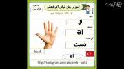 اسامی اندام بدن در زبان ترکی آذربایجان (قسمت اول)