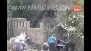 کمین تروریستها و افتادن خودشون تو کمین ارتش سوریه