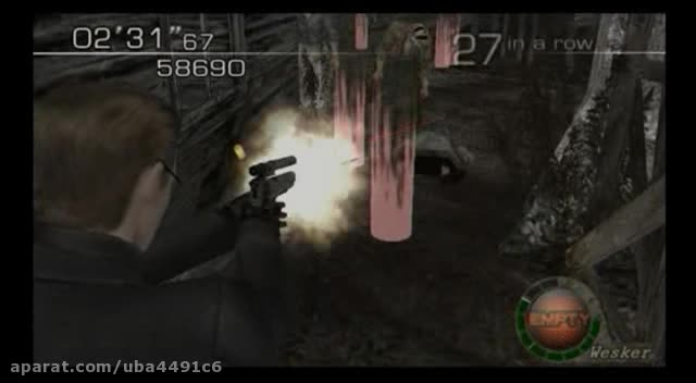 بهترین Gameplay  من از اویل4 Part 1 Albert Wesker