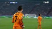 گل سوم رئال مادرید مقابل شالکه (کریستیانو رونالدو)