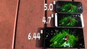 مقایسه صفحه نمایش s4 و htc one و xperia z ultra-دهکده موبایل