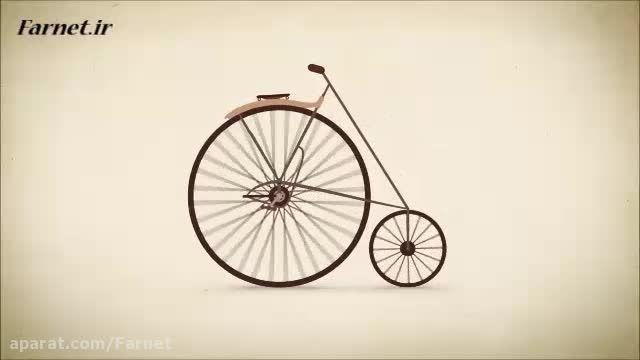 سیر تاریخ تحول دوچرخه ها در کمتر از یک دقیقه