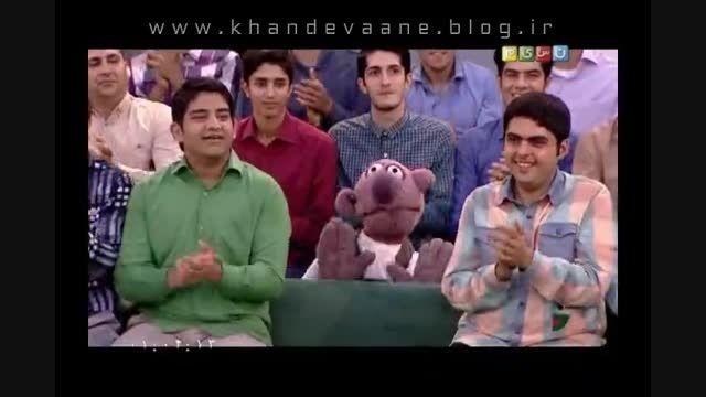 خندوانه، 24 خرداد 94، گفتگوی جذاب با جناب خان