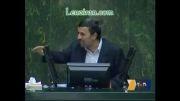 متلک اندازی احمدی نژاد و علی لاریجانی به یکدیگر در جلسه استی
