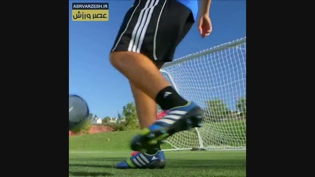 آموزش فوتبال - تمرین پاسکاری (14)