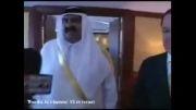 دیدار امیر قطر و وزیر امور خارجه سابق اسرائیل !!