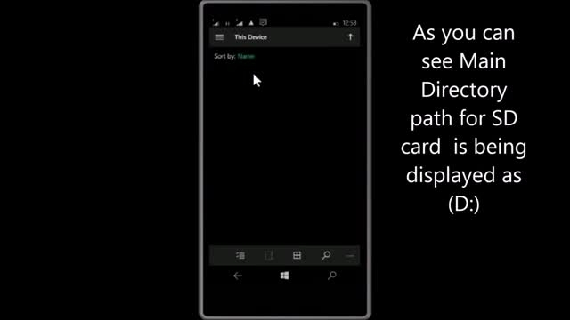 دسترسی به فایل های سیستمی در ویندوز 10 موبایل