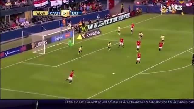 هایلایت بازی آندرس پریرا در مقابل کلاب آمریکا