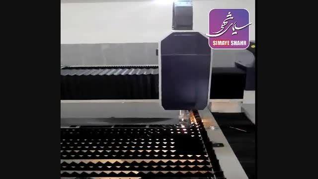 دستگاه لیزر فایبر توان بالا-مخصوص فلزات مدل 1530