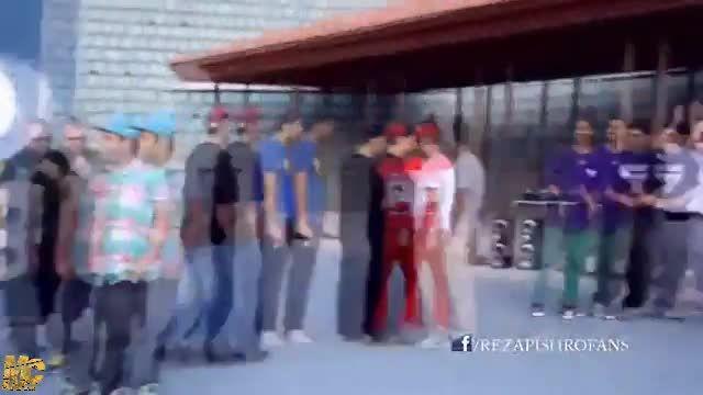 پشت صحنه موزیک ویدئو قبرستون هیپ هاپ از رضا پیشرو