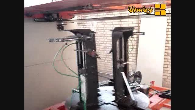 دستگاه خاموت زن CNC پیوسته 09122474253 novinsazan.com