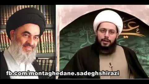 سخنرانی کوبنده در باره سید صادق شیرازی