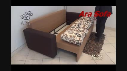 کاناپه تختخواب شو آرا - مدل B22 آرا سوفا