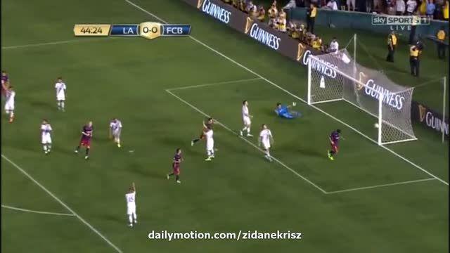 بارسلونا 1 - 0 لس آنجلس گلکسی (گل لوئیز سوارز)