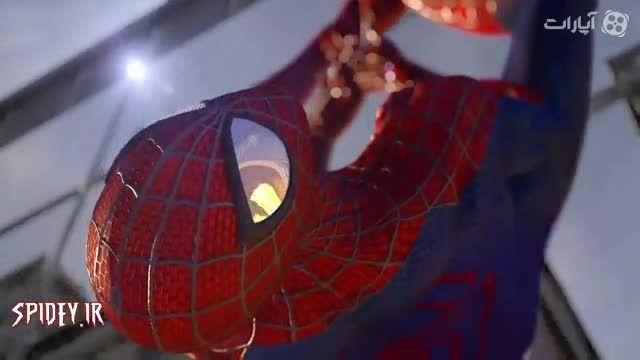 تریلر مرد عنکبوتی شگفت انگیز 2