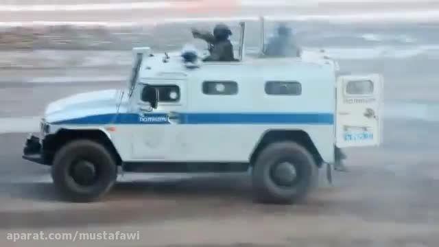 تمرین مبارزه نیروهای ویژه ی روسیه (اسپتسناز)