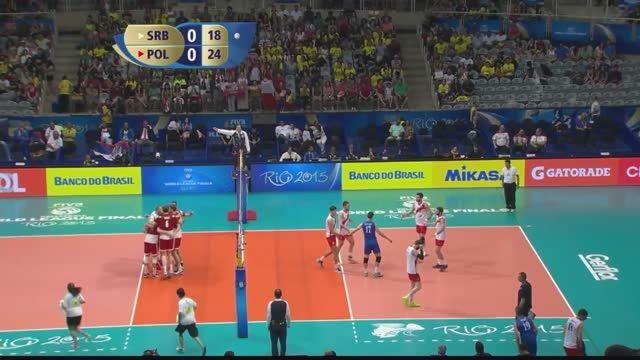 لیگ جهانی والیبال 2015 : صربستان VS لهستان