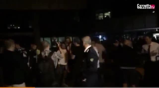 خوش حالی طرفداران یوونتوس پس از صعود به فینال UCL