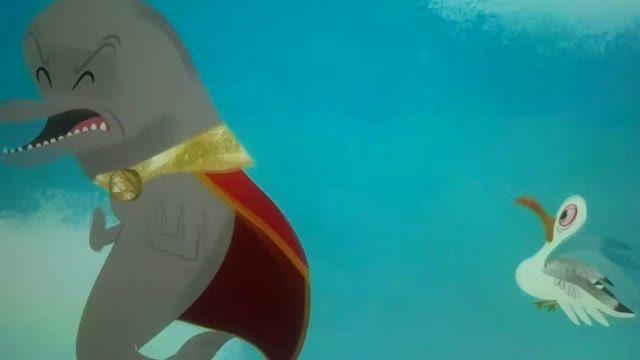 باب اسفنجی بیرون از آب با دوبله فارسی
