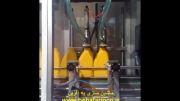 دستگاه پرکن مایعات غلیظ پمپی و درب بند|ماشین سازی به آفرین