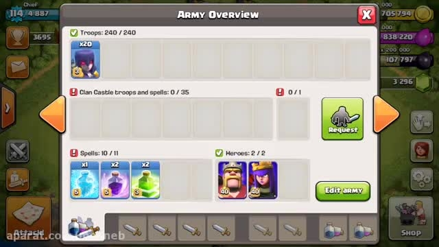 ''clash of clans new level ''witch-3