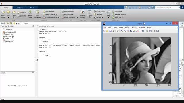 پروژه الگوریتم TVMM - پردازش تصویر