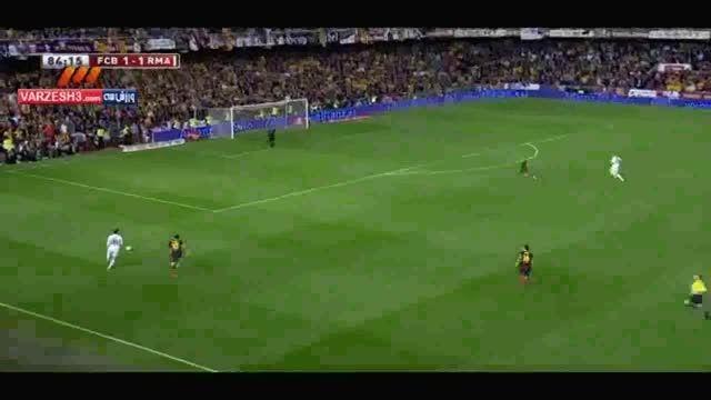 سوپر گل بیل به بارسا در جام حذفی