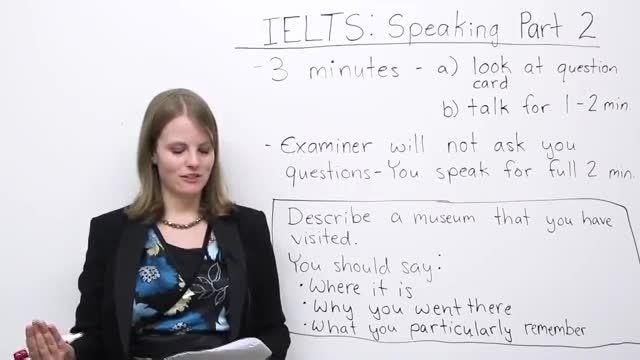 آموزش آیلتس اسپیکینگ - تسک 2 - How to succeed