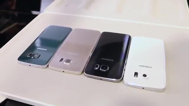 چهار رنگ زیبا Samsung Galaxy S6  - Galaxy S6 Edge