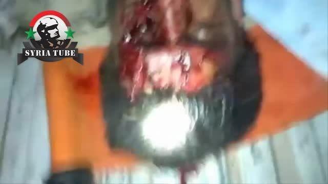 بصری الشام - درعا - هلاکت فرمانده میدانی ارتش آزاد