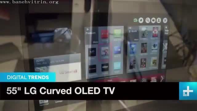 تلویزیون او ال ای دی سه بعدی منحنی اسمارت ال جی EA9800
