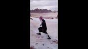 عرب برف ندیده
