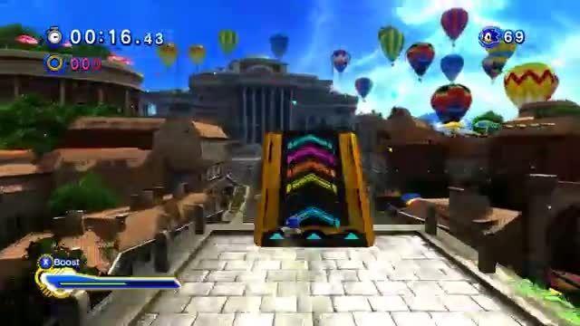Sonic Generations PC - Sonic Runners Mod